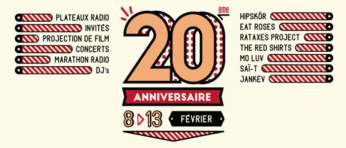 Radio Campus Rennes fête ses 20 ans !