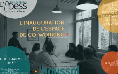 Inauguration de l'espace co-working de l'ADESS Morlaix